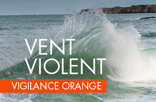 "Vigilance ORANGE pour ""vent violent"""